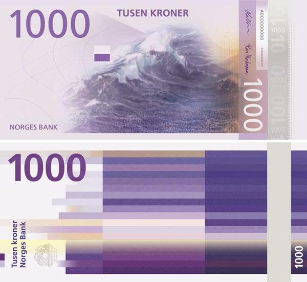 1000 норвежских крон (ввод в обращение в 2017 году)
