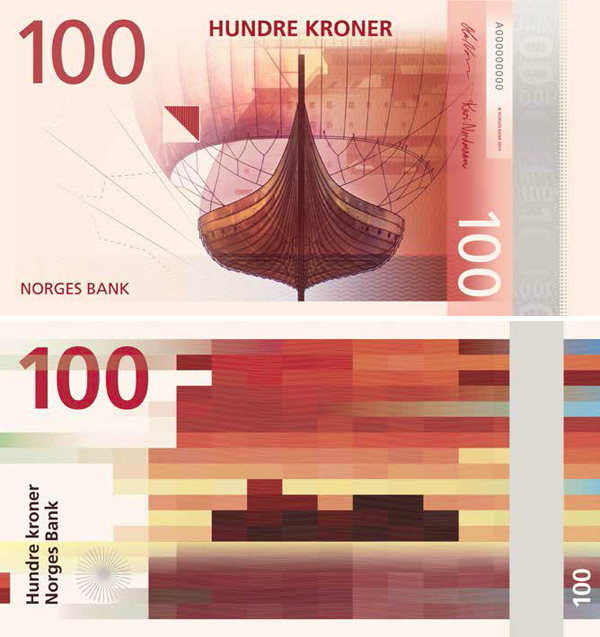 100 норвежских крон (ввод в обращение в 2017 году)
