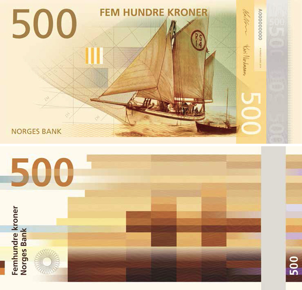 500 норвежских крон (ввод в обращение в 2017 году)