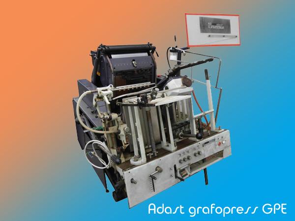 универсальный тигельный печатный автомат Adast Grafopress GPE