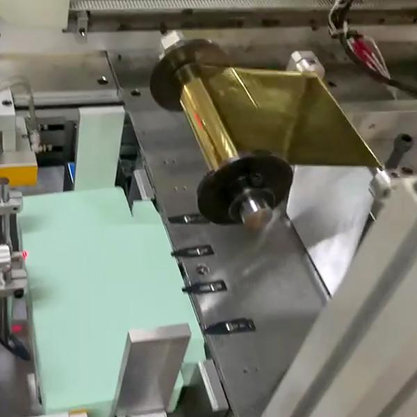 автоматический пресс для тиснения фольгой AHF-510 (пр-ва Китай)