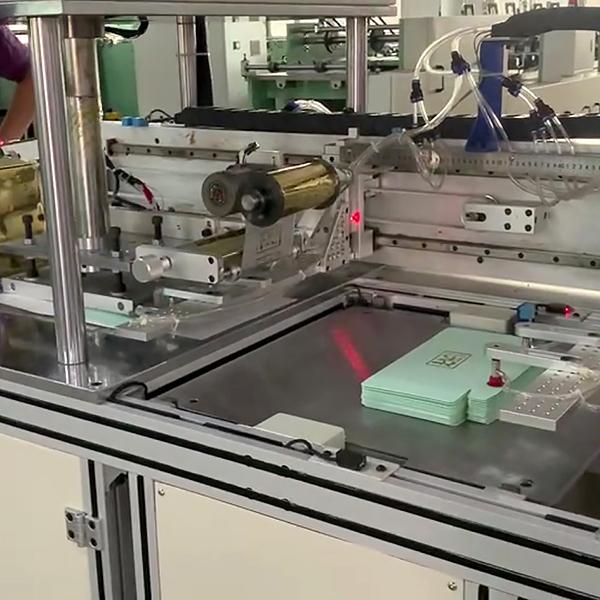 пресс для горячего тиснения фольгой AHF-510 (Китай)