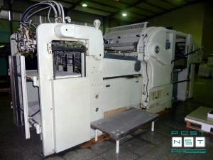 восстановленный штанцагегат Бобт SP-1080 E (1960/1995)
