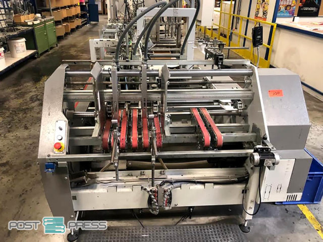 самонаклад Accufeed (Bobst Expertfold 110 A2, 2008 год)