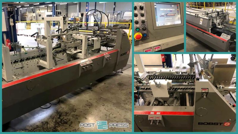 used folder-gluer Bobst Expertfold 110 A-2 (2008)