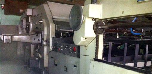 штанцавтомат Bobst SP-1420E (1973 год выпуска)