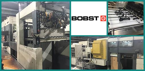 автоматическая высечка Bobst Autoplatine SP 102-CER, 1991 год, склад Украина