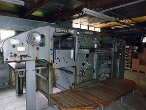 высекальный автомат Bobst SP 900E