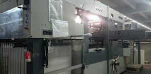 автоматический штанцевальный агрегат Bobst SP 102-E (1984 год)