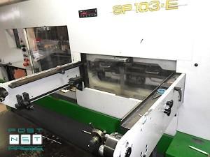 секция автоматической высечки Bobst SP 103-E