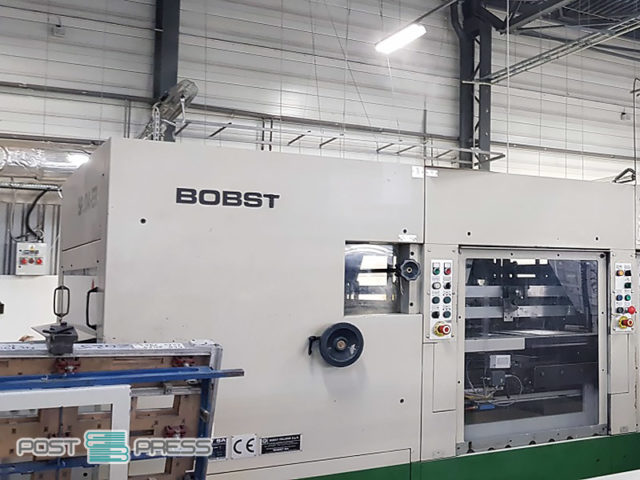 секция разделения заготовок Bobst SP 104-ER (blanking unit)