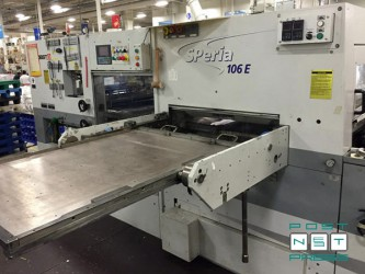 секция выталкивания обрезков (BOBST SP 106E Autoplaten)
