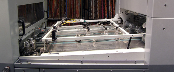 стол равнения штанц-автомата Bobst sPeria 106-E