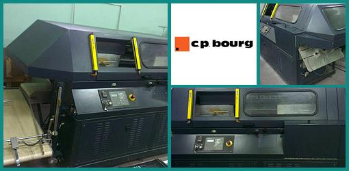 термоклеевая машина CP BOURG BB 4004, 2002 год выпуска