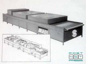 сушка Jet Dryer MOD. 100 (горячий воздух + УФ)