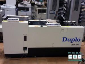 финиш-модуль Duplo, брошюровка DBM-250, подрезка DBM-250T