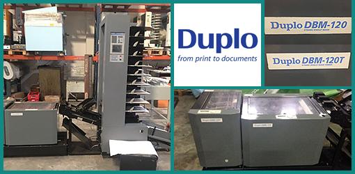 листоподборочно-брошюровочная линия Duplo System 4000 (б/у)