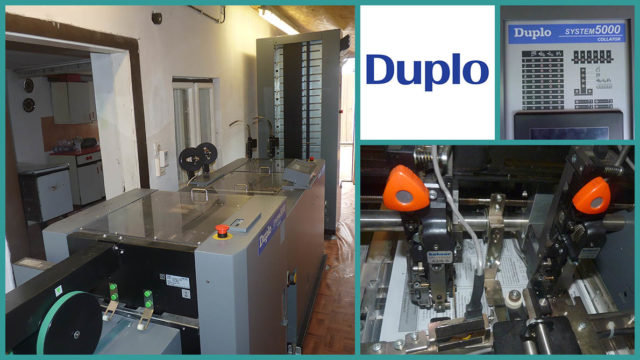 collator/bookletmaker Duplo System 5000 (2011)