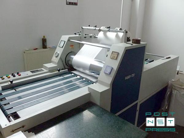 рулонный ламинатор Faber 720 (Китай), 2007 год