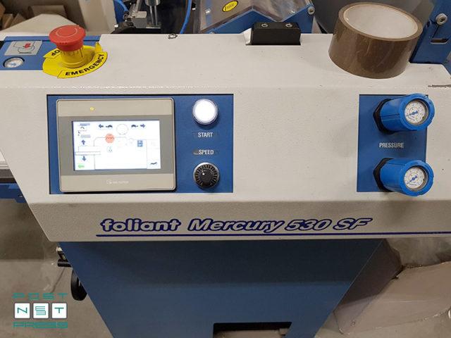 микропроцессорный контроль PLC Control (Foliant Mercury 530SF, б/у)