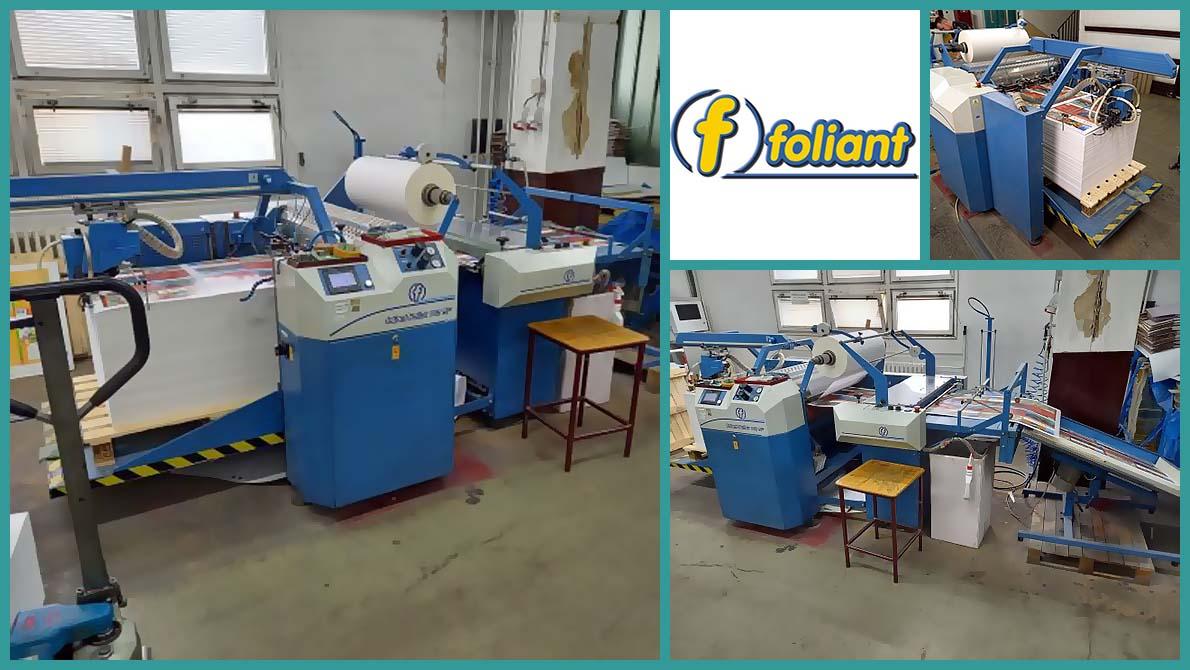 used laminator Foliant Pollux 760 SF (2011)