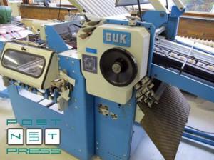 GUK K52/4K (фальцевальные кассеты)