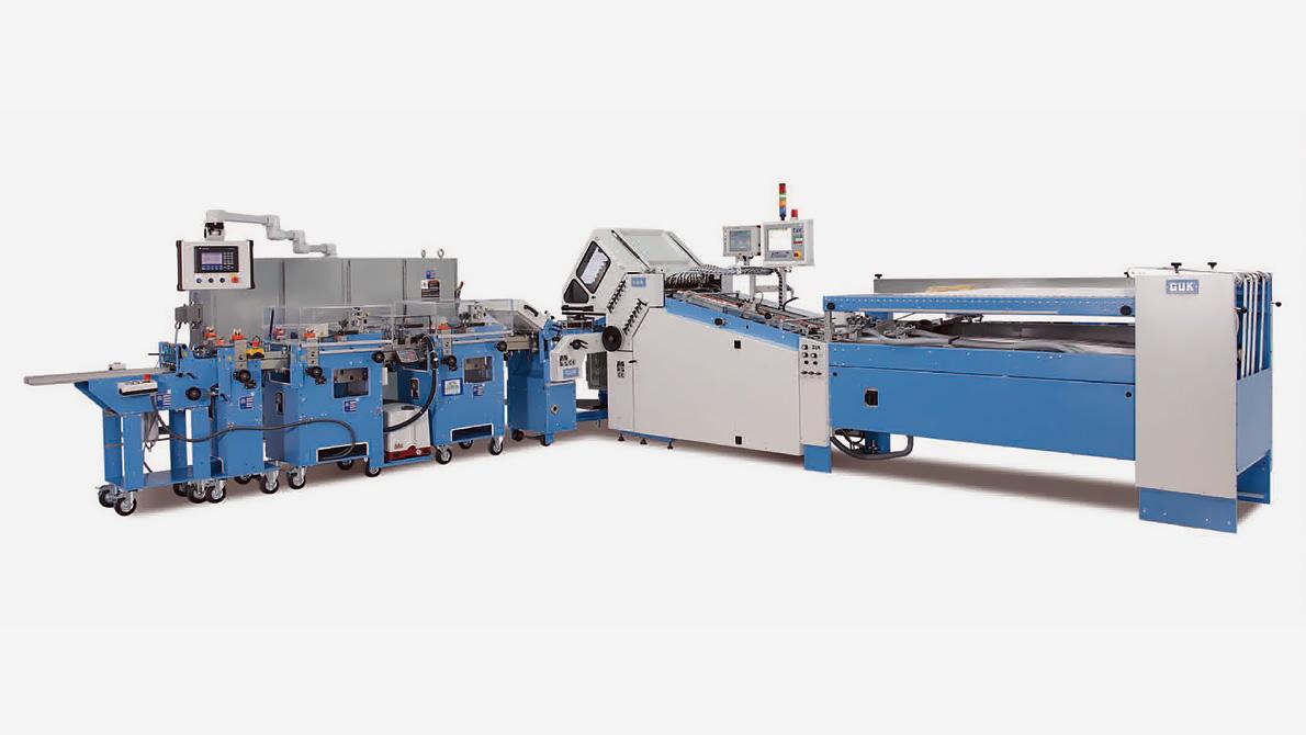 GUK pocket folding machine FA53