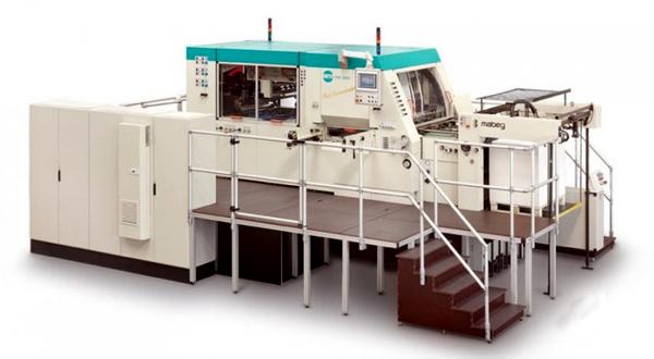 автоматический пресс для горячего тиснения фольгой Gietz FSA-1060 Foil Commander