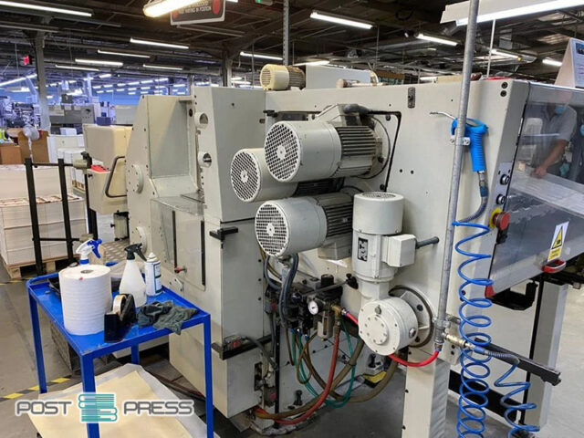 used Gietz FSA790 foiling presses
