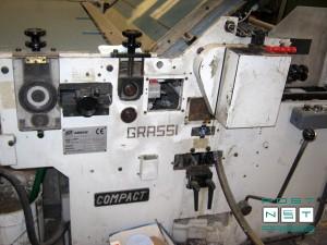 б/у кашировальная линия Grassi Compact 1400