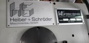 Heiber & Schroeder WP 11, 1997 год вклейка окошек