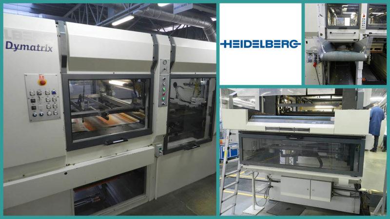 Heidelberg Dymatrix 105 CSB Pro, blanking (2008)