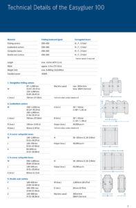 варианты склеиваемых коробок на Heidelberg Easygluer 100