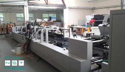 клеевая система Nordson с 3-мя форсунками Heidelberg Easygluer 100