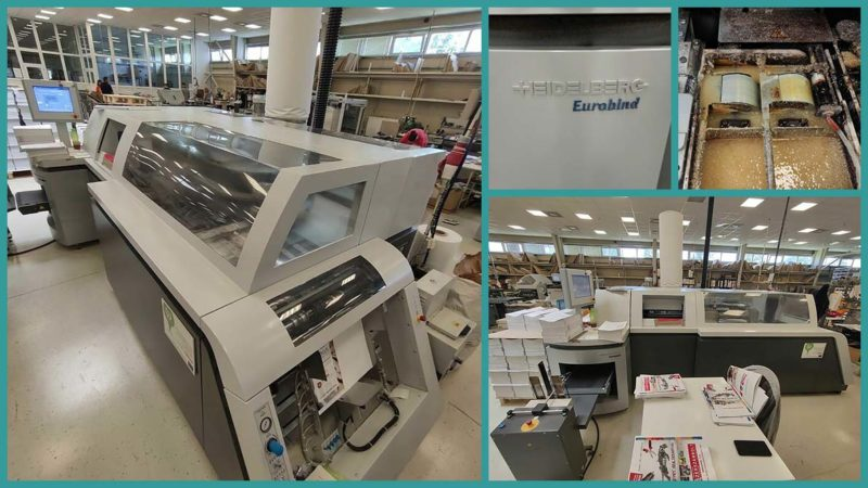 used perfect binder Heidelberg Eurobind 1300 (age 2013)