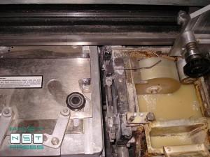станция термоклеевой промазки корешка и боковой промазки