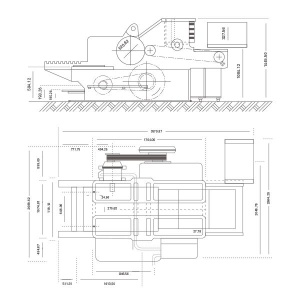 установочные размеры Heidelberg SBD-SBDZ