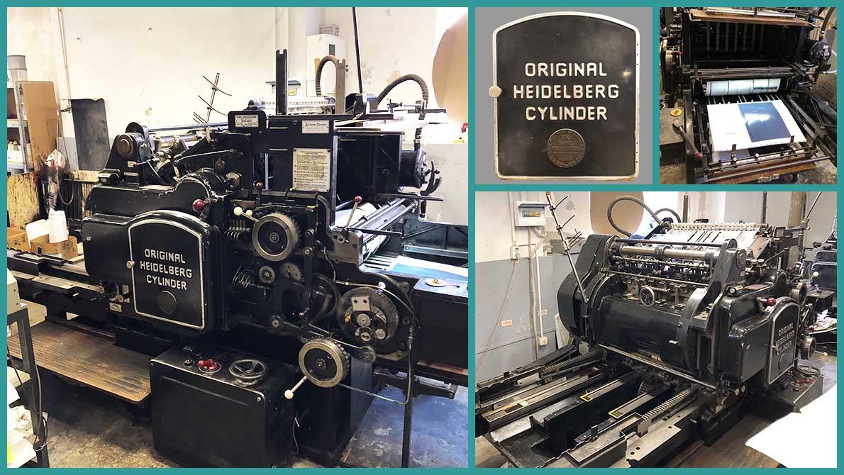 Original Heidelberg Cylinder модель S (54x72 см), б/у в Украине