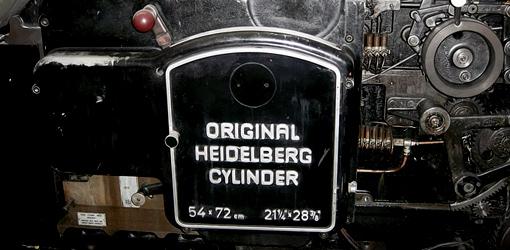 Heidelberg S original-cylinder