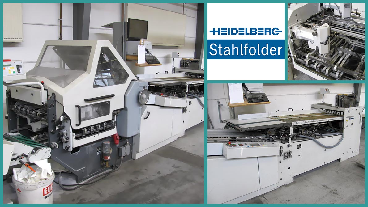 used folder Heidelberg Stahlfolder KD66/4 KL-RD (2003)