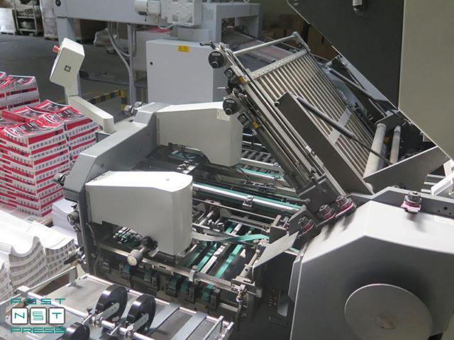 plegadora Heidelberg Stahlfolder KH 78/4 KTL (2008)