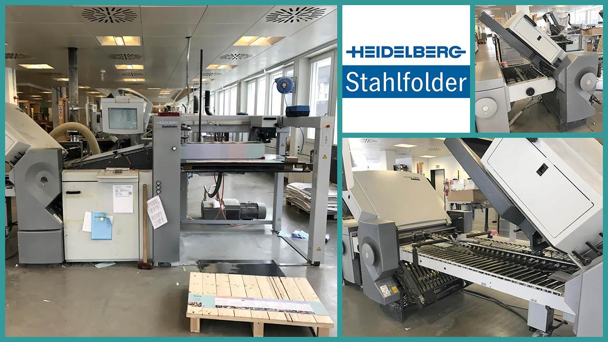 Heidelberg Stahlfolder TH 82/6/4 (6 кассет + 4 кассеты), 2006 год