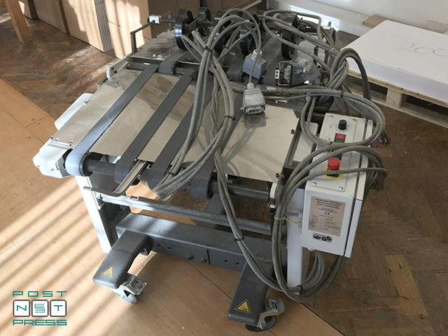 мобильная ленточная приемка Heidelberg Stahlfolder Ti 52/4/4 Fi52