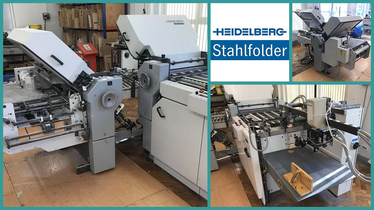 продам кассетно-ножевую фальцовку Heidelberg Stahlfolder Ti52/4-4-KBi-Fi52 (2005 год)