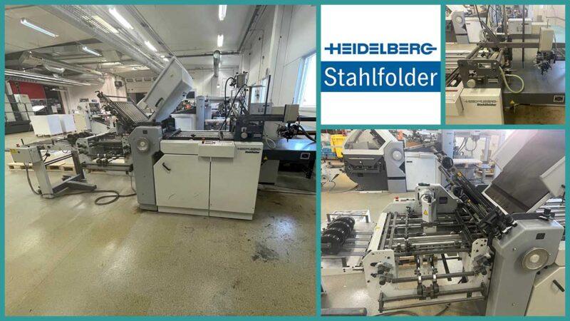 used Heidelberg Stahlfolder Ti52-4-KBI-Fi (2002)