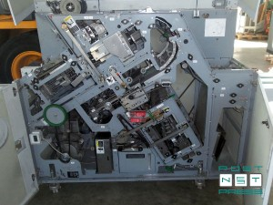 модуль прошивки проволокой, фальцовки и подрезки передней кромки