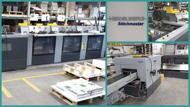 б/у ВШРА Heidelberg Stitchmaster ST-100 (2004)