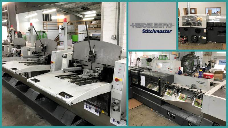 Heidelberg Stitchmaster ST350 saddle stitcher, 2005