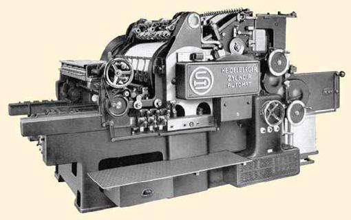 Heidelberger Zylinder Automat, 1935 год