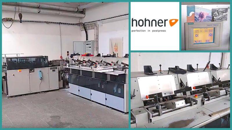 вкладышно-швейно-резательный агрегат (ВШРА) Hohner HSB 5000 (2002 год)
